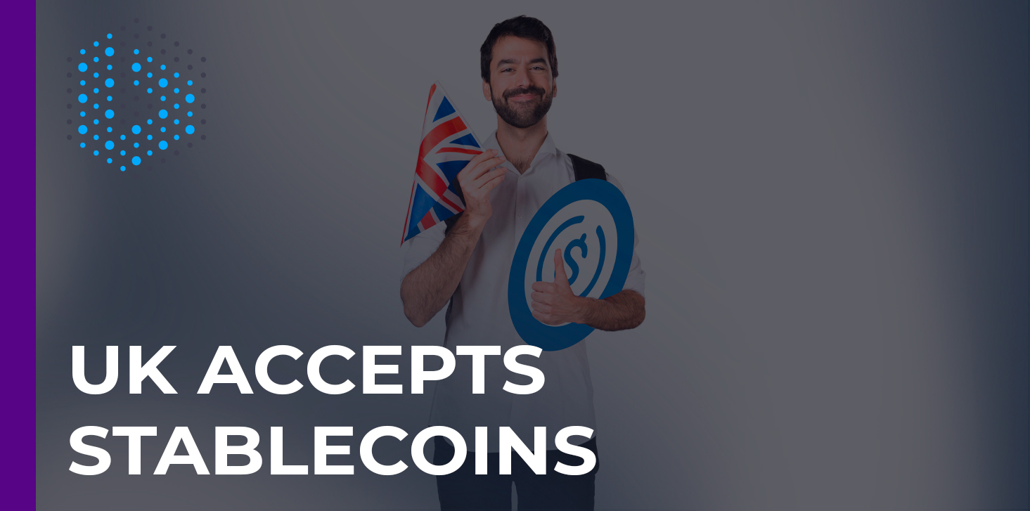 The UK government recognizes the potential of stablecoins for the economy